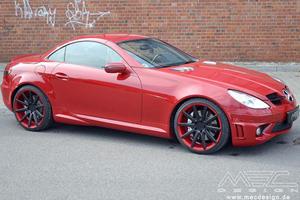 Mercedes SLK55 AMG by MEC Design
