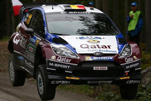 This is NOT Fake: Rally Car Goes Airborne