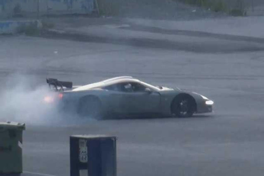 Factory Five's LS7-Powered GTM Kit Supercar Doing Donuts And