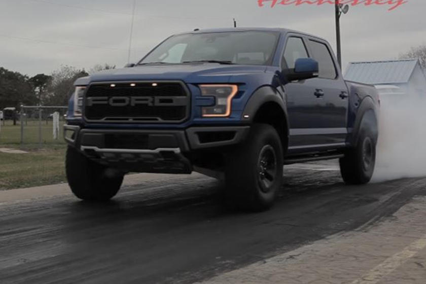 It Turns Out The 2017 Ford F-150 Raptor Does 0-60 MPH