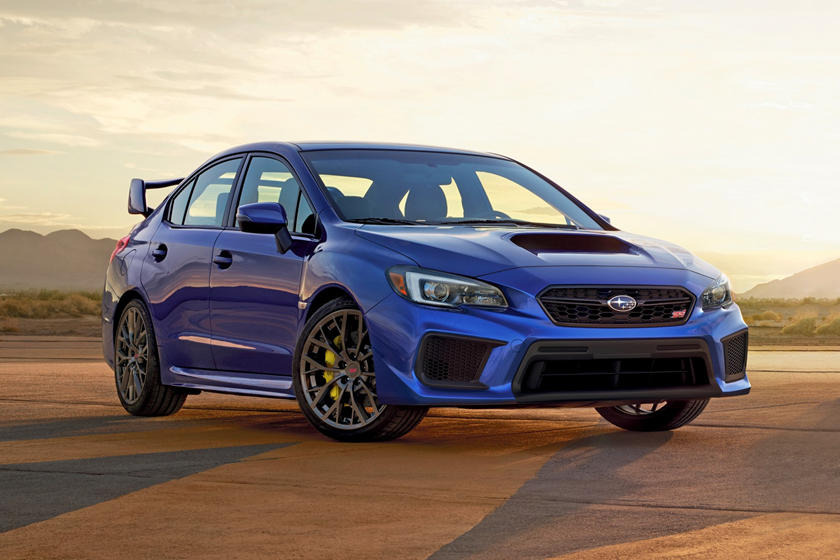 2019 Subaru Wrx Sti Review Trims Specs Price New Interior Features Exterior Design And Specifications Carbuzz