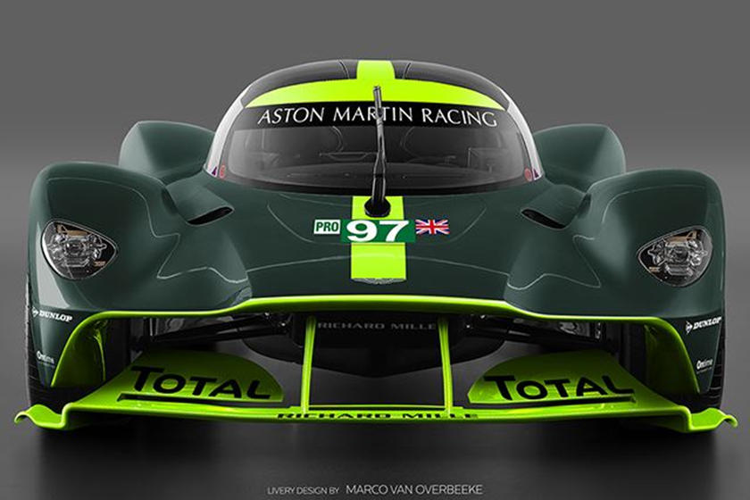 This Is What The Track Only Aston Martin Valkyrie Could Look Like Carbuzz