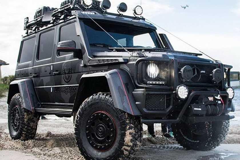 Custom G Wagon >> Jon Olsson Has Built A Beastly 800 Hp Mercedes G500 4x4 Squared