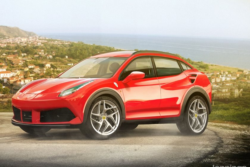 What Would Today S Sports Cars Look Like As Suvs Carbuzz