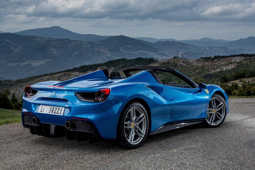 Ferrari 488 Spider Review Trims Specs Price New Interior Features Exterior Design And Specifications Carbuzz