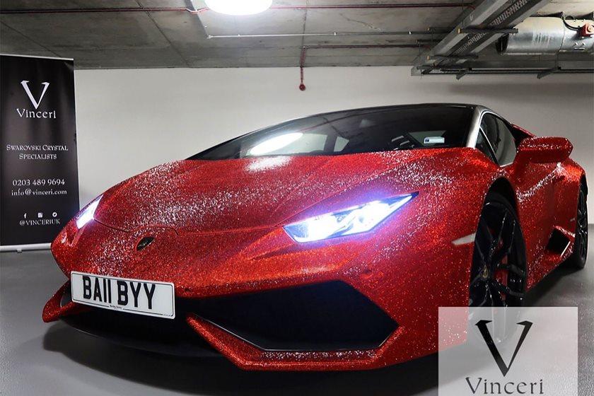 Lamborghini Huracan Coated In 1.3 Million Swarovski Crystals | CarBuzz