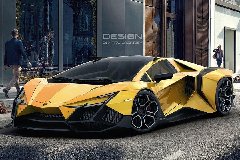 Lambo V12 Reveals What Future Lamborghini Cars Will Look