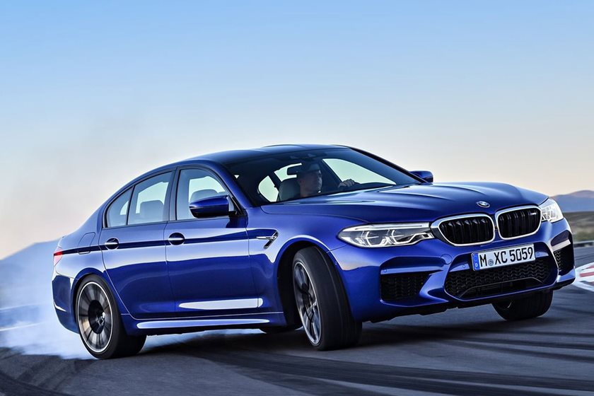 Pirelli Modified The New BMW M5's Tires To Keep Things Loud
