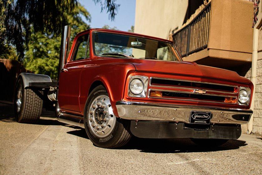 Custom Pickup Trucks >> Custom Chevy Pickup From Fast Furious Sells On Ebay For A Bargain