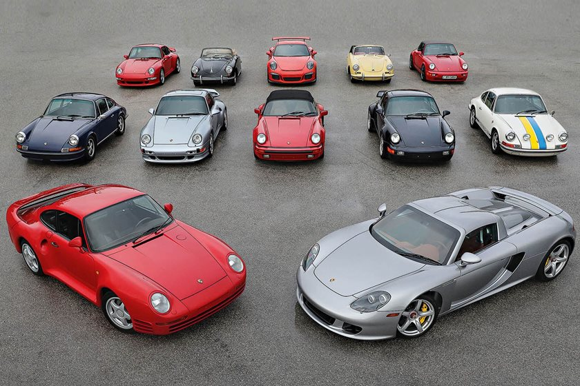 Amazing Collection Of Porsche Cars Heads To Auction Carbuzz