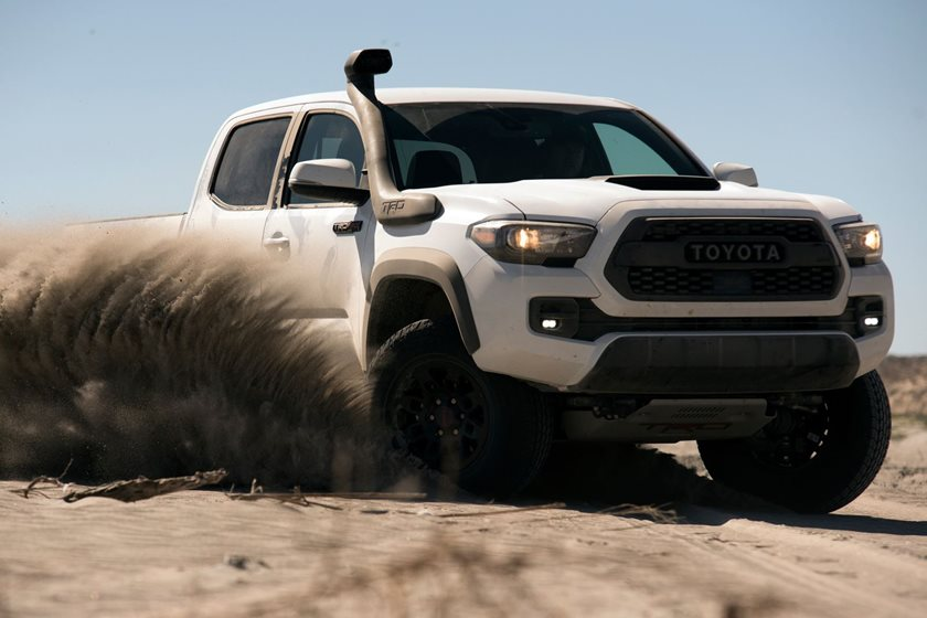 2019 Toyota Tacoma Trd Pro Gets Snorkel So It Doesn T Choke On Sand
