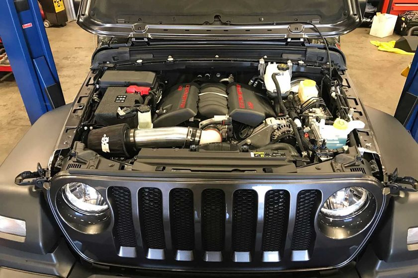 Bruiser Conversions Will Crank Your New Wrangler Up To 450