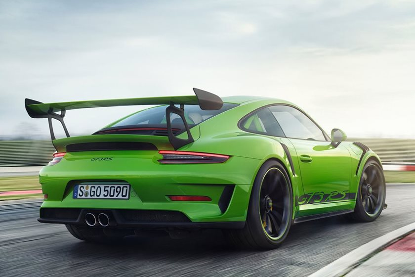Is The New Porsche 911 Gt3 Rs Painted Green To Tell Us Something Carbuzz