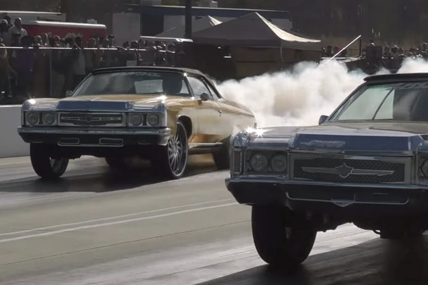 Forget About Geneva And Watch These Drag Racing Donks