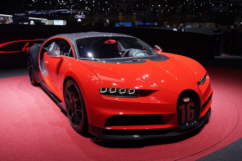 Behold The New And Improved Bugatti Chiron Sport | CarBuzz
