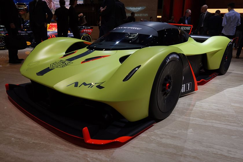 This Is The Track Only Aston Martin Valkyrie Amr Pro Carbuzz