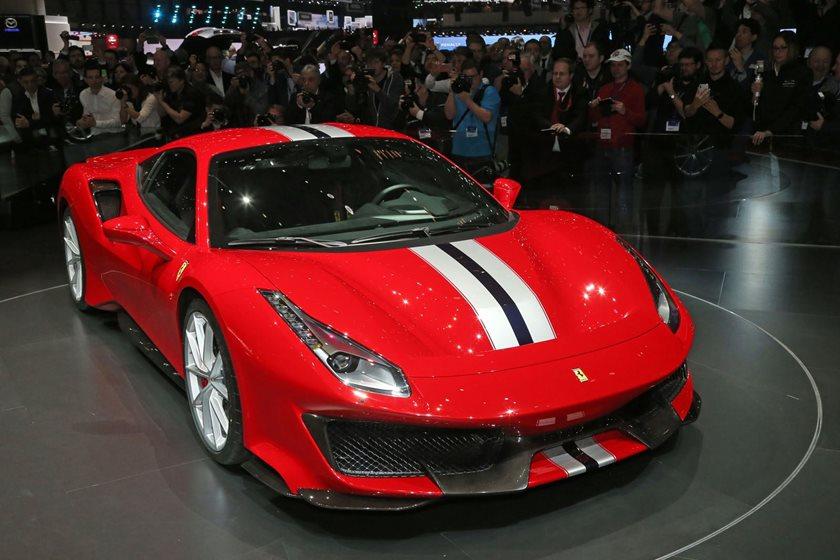 Ferrari 488 horsepower