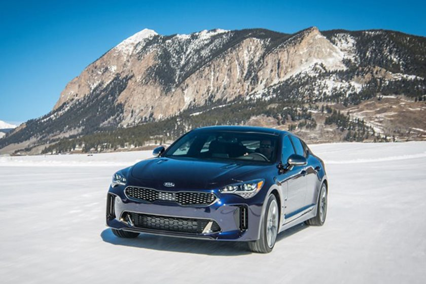 this rare kia stinger atlantica is more than just some pretty paint