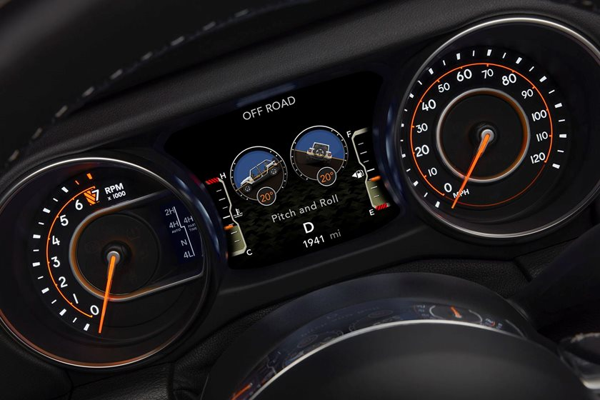 Why Aren't The New Jeep Wrangler's Digital Off-Road Gauges Working