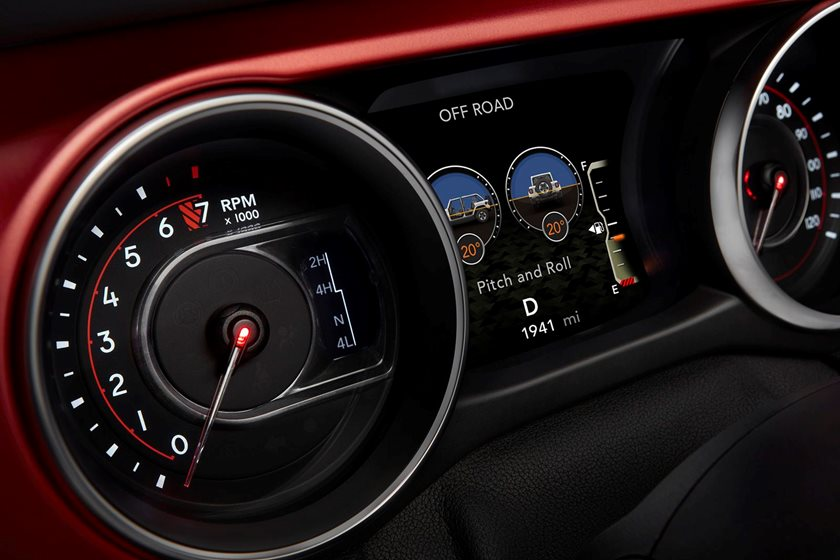 Why Aren T The New Jeep Wrangler S Digital Off Road Gauges