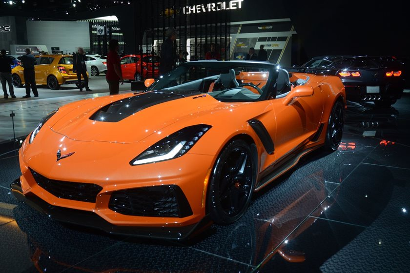 First Batch Of 2019 Chevrolet Corvette Zr1s Have Been Shipped To