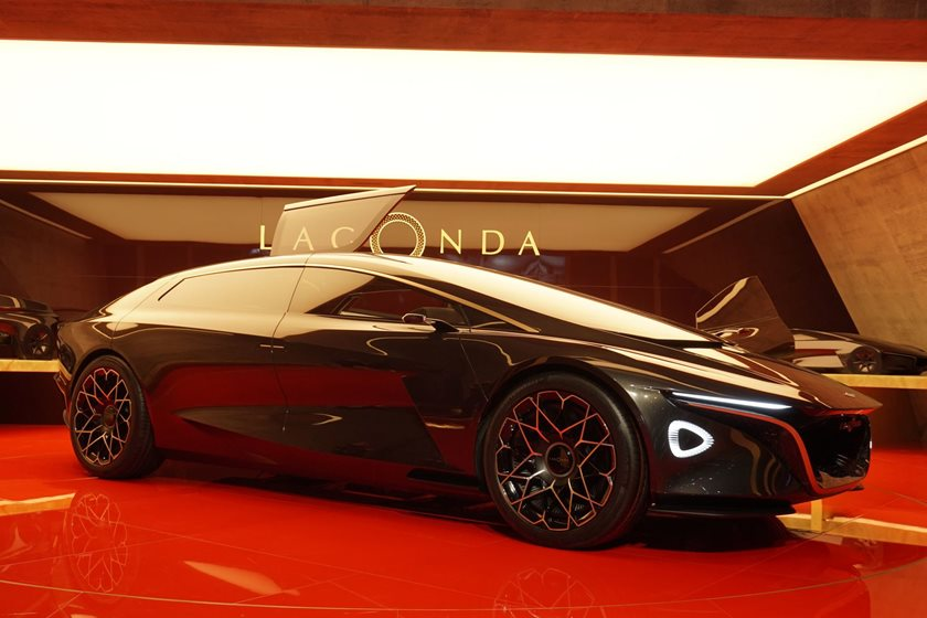 The First Aston Martin Lagonda Model Will Be An All Electric Suv Carbuzz