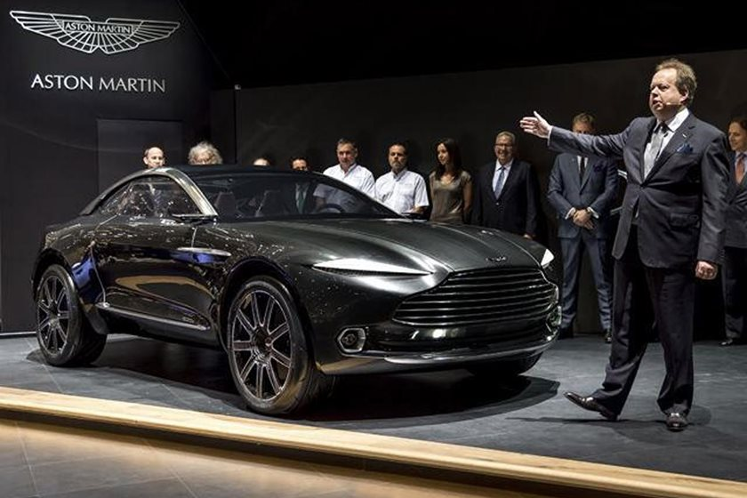 Project Sparta Is Aston Martin S First Ever Monster Truck Carbuzz