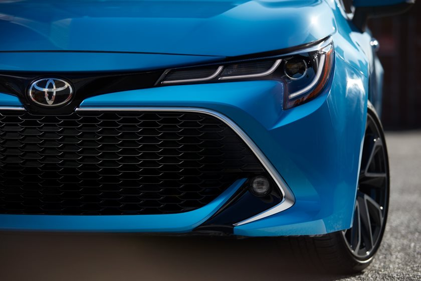 2019 toyota corolla hatchback first look review  son of