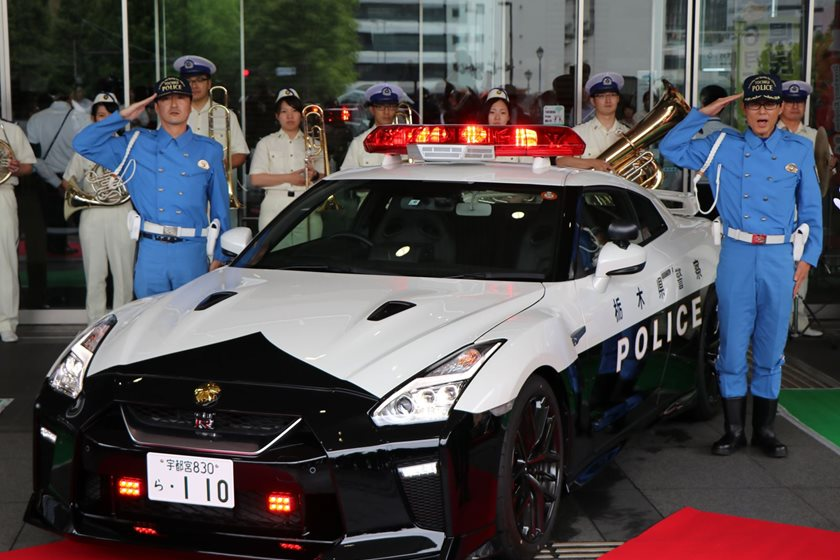 Some Guy In Japan Donated This Nissan GT-R To The Local