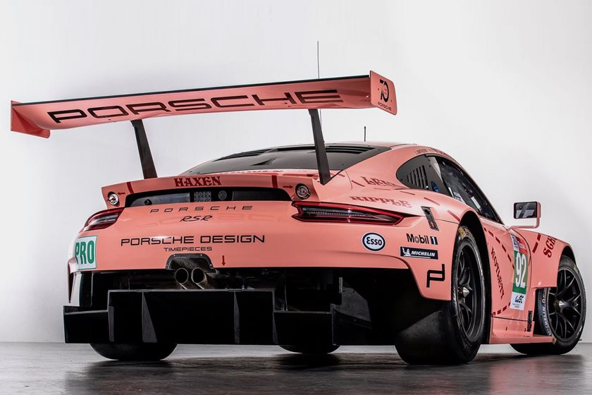 A Porsche 911 Painted Like A Pig Wins Its Class In 24 Hours