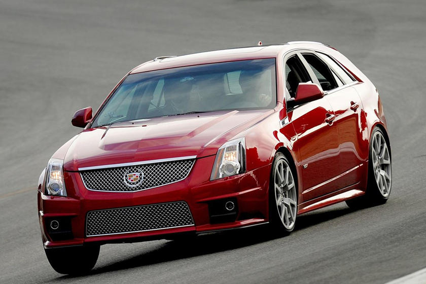 Cadillac Cts-V Wagon For Sale >> The Greatest Cadillac In The Past Decade Was A 556 Hp Wagon