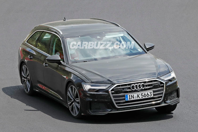 Audi S6 Avant Spied Looking Like Forbidden German Fruit