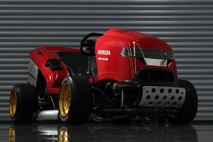 Honda's New 190-HP Mean Mower Can Go Faster Than A BMW