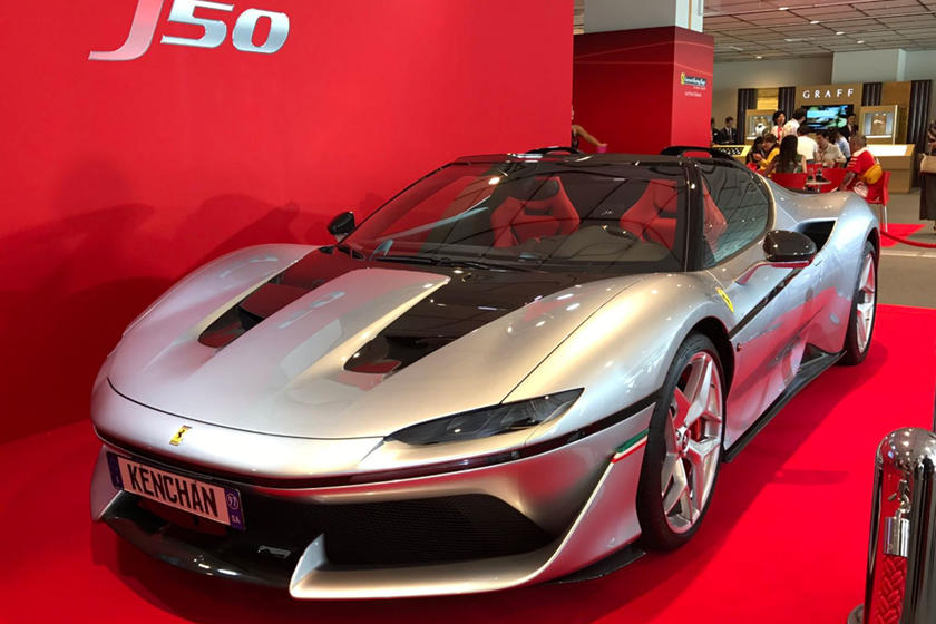 Remember The Ferrari J50 Customer Deliveries Have Taken Two Years Carbuzz