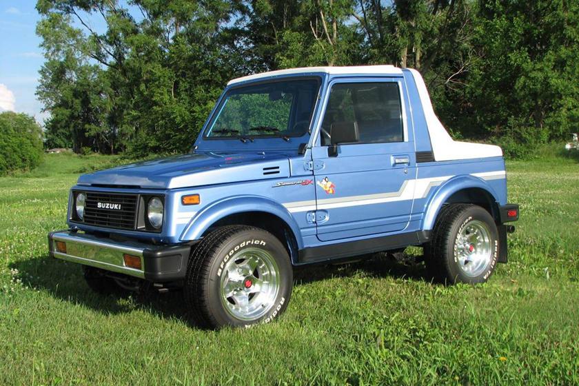 Used Tires Des Moines >> Weekly Craigslist Hidden Treasure: 1986 Suzuki Samurai JX