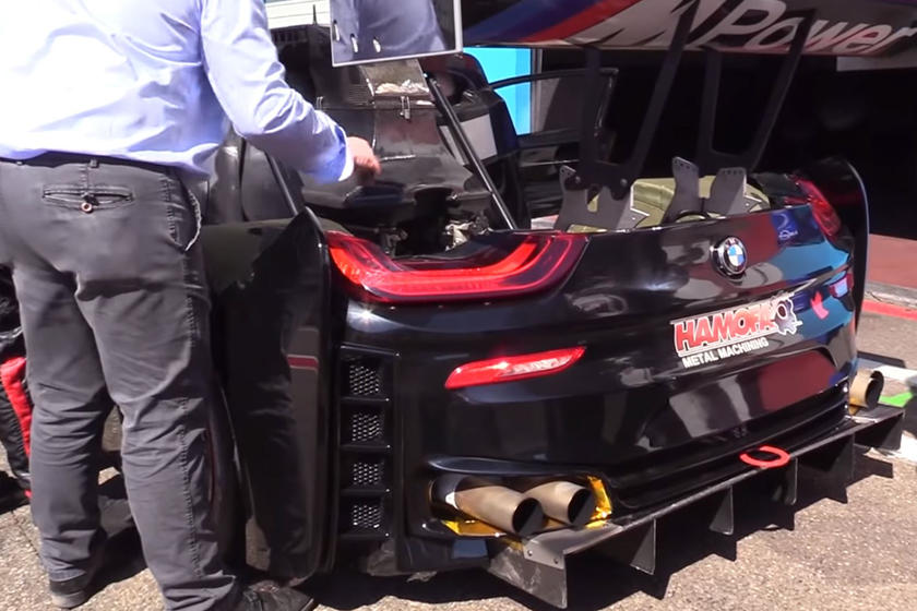 This Racing Team Swapped A BMW i8's Hybrid System For A 550