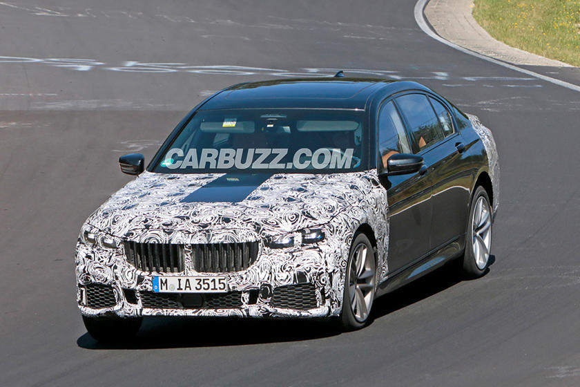 2019 Bmw 7 Series Facelift Shows Off Massive Grille At The
