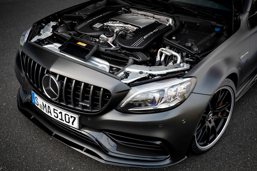 Apparently the owner of this Mercedes C63 Amg 507 Edition ...