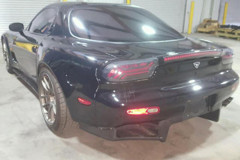 Somebody Swapped This 1993 Mazda RX-7's Rotary Engine For An