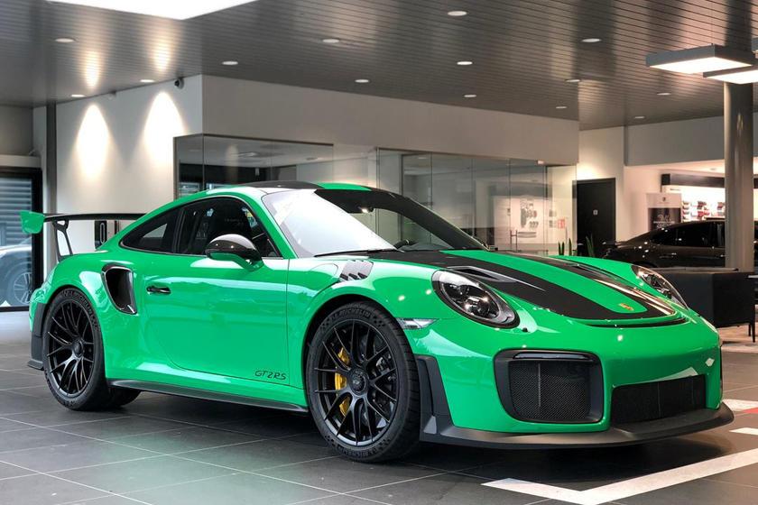 10 Amazing Paint To Sample Porsche 911 Gt2 Rs Colors Carbuzz