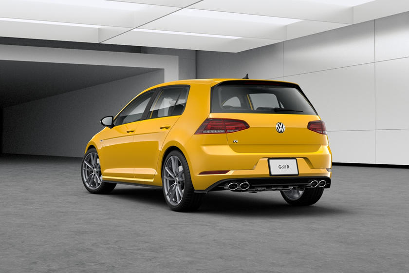 2019 Volkswagen Golf R Finally Receives Awesome Colors Carbuzz