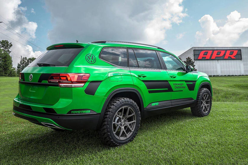 Volkswagen Atlas Gets Angry Makeover And 350 HP | CarBuzz