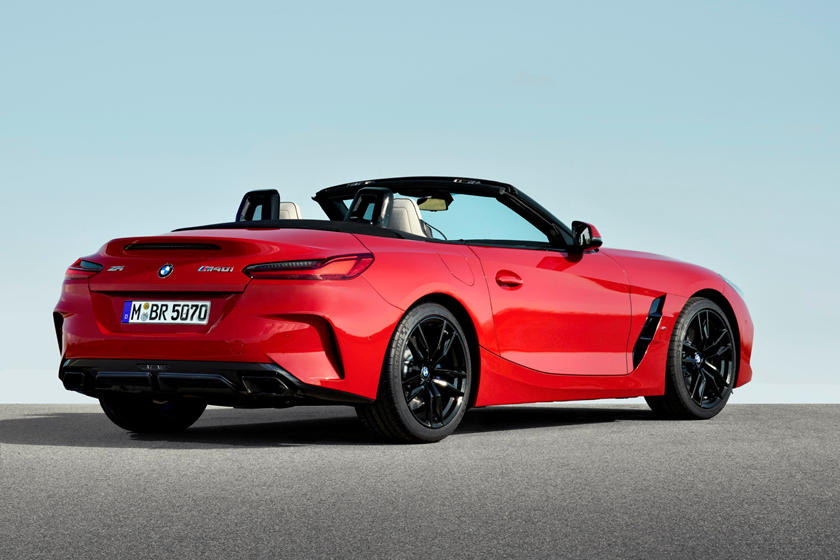 2019 BMW Z4 Finally Breaks Cover At Pebble Beach, And It's ...