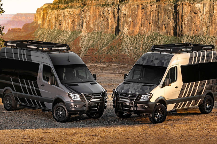 Mercedes Benz Sprinter Goes Where No Van Has Gone Before Carbuzz