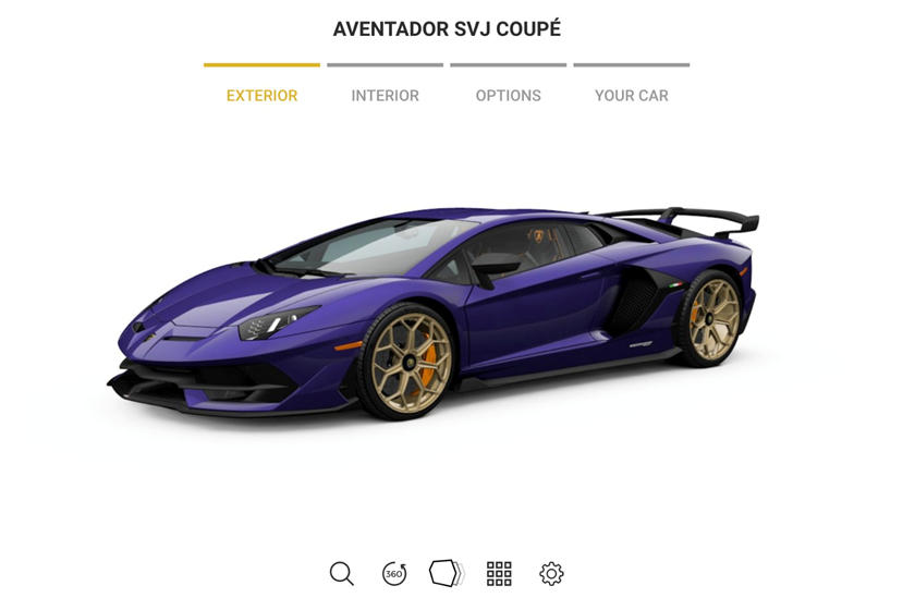 Live The Dream Configure Your Very Own Lamborghini Aventador Svj