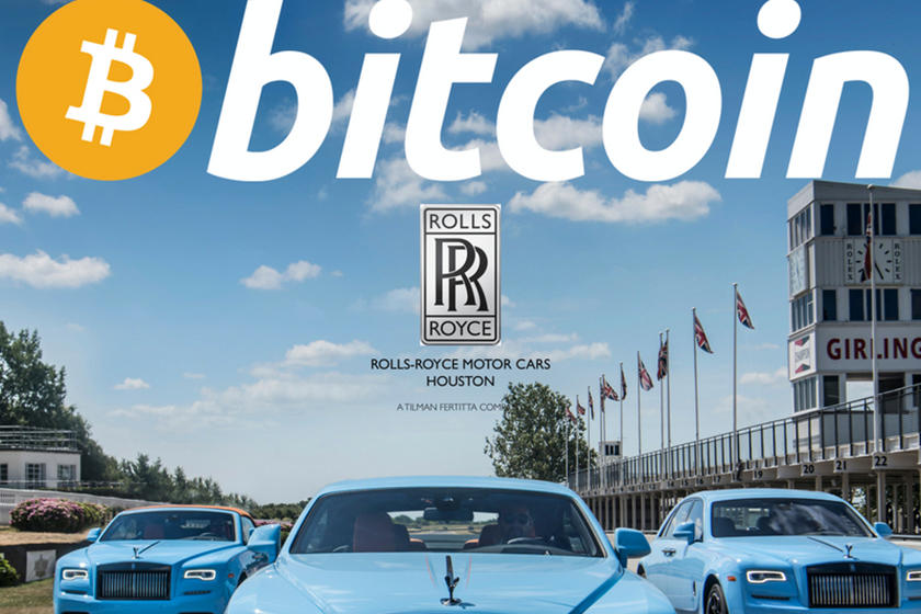 buy cars with bitcoins