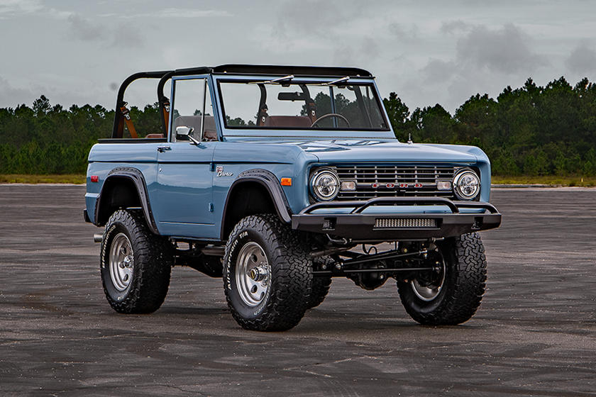 2016 Ford Bronco Price >> Stunning 1973 Ford Bronco Restomod Costs More Than A Mclaren 570s