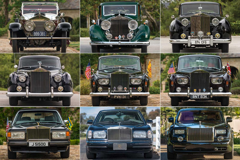 Rolls Royce Limo >> There S A Huge Collection Of Rolls Royce Limos Coming Up For Auction