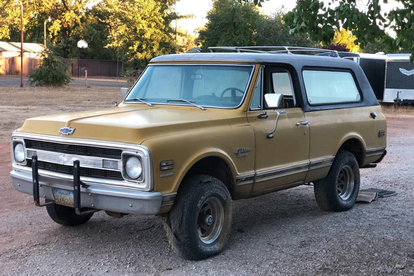 Los Angeles Craigslist Cars >> Weekly Craigslist Hidden Treasure 1970 Chevrolet Cst Blazer