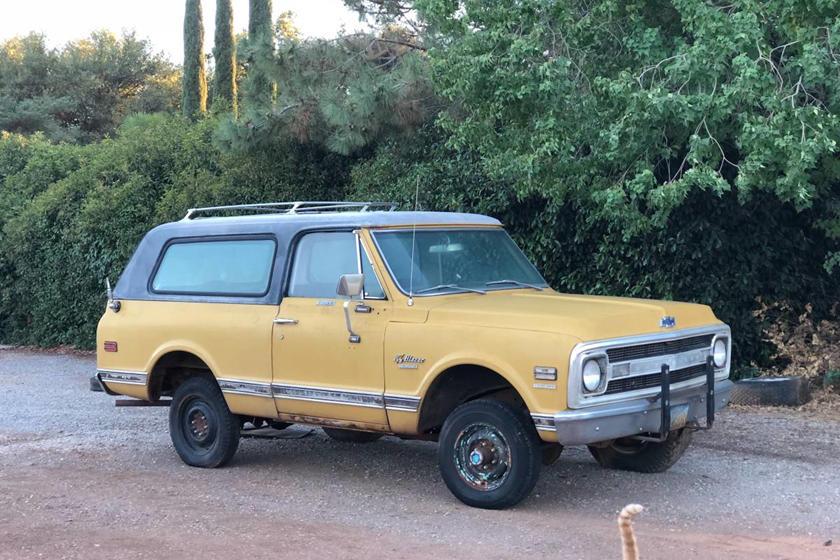 Weekly Craigslist Hidden Treasure: 1970 Chevrolet CST Blazer